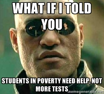 Morpheus Knows High-Stakes Testing